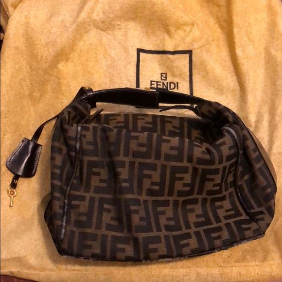 292f23cc2f1 Fendi Handbags - Fendi Zucca Print Cosmetic Bag